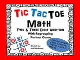 Addition  with Regrouing Tic Tac Toe Game