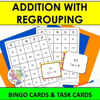 Addition with Regrouping Bingo
