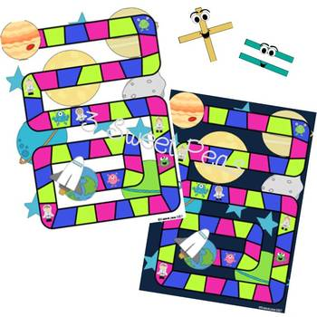 Addition with Regrouping Board Game (Module 4)