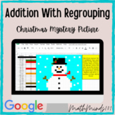 Addition with Regrouping - Christmas Mystery Picture - Goo
