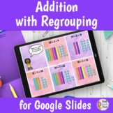Addition with Regrouping Digital Lesson