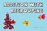 Addition with Regrouping HOW TO POWERPOINT- 3 digits