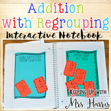 Addition with Regrouping Interactive Journal Activities