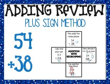 Addition with Regrouping Mini introduction power point