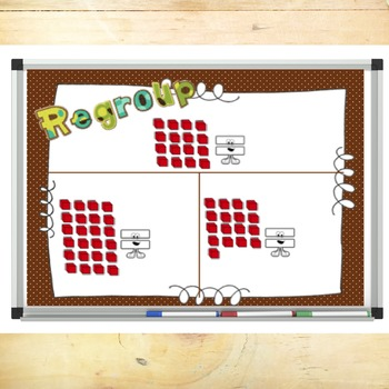 Addition with Regrouping PowerPoint and SmartBoard File