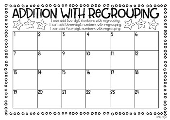 Addition with Regrouping | Task Cards: