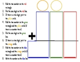 Addition with Regrouping Visual