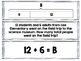 Addition with Strip Diagrams & Equations Match-Up Cards {T
