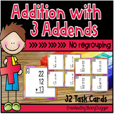 Addition with Three Addends - No Regrouping