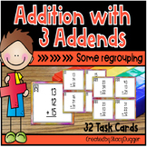 Addition with Three Addends - Some Regrouping