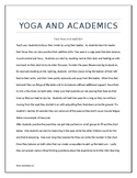Addition with Yoga