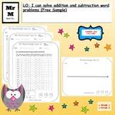 Addition & Subtraction: Using a Number Line