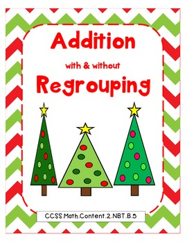 Addition with and without Regrouping Pack