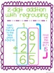 Addition with and without Regrouping Posters