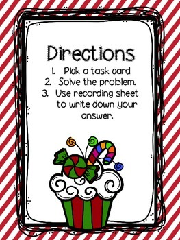 Addition with and without regrouping Cupcake Theme