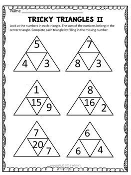 Addition with three addends