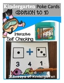 Addition (within 10) Poke Cards (Fish theme)