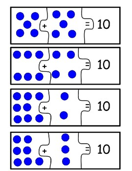 Addition within 10 puzzle