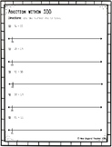Addition within 100 on Open Number Line