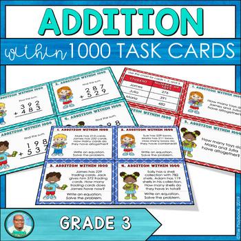 Addition Task Cards