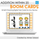 Addition within 20 Boom Cards / Digital Task Cards / Dista