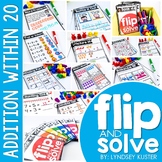 Addition Within 20 - Flip and Solve Books