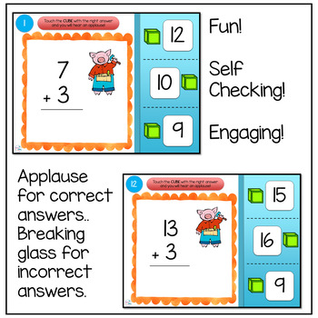 Addition Interactive Powerpoint Game