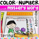 Color by Number Spring Addition