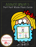 Addition within 5: Part Part Whole Flash Cards