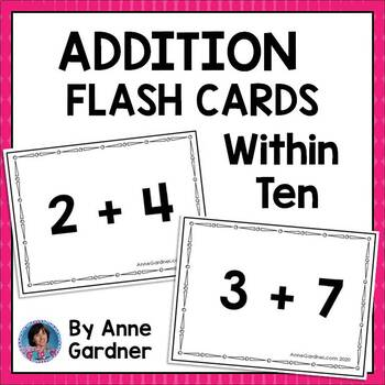Addition within Ten ~ Flashcards