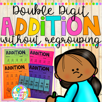 Addition without Regrouping {Double Digit}