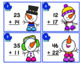 Task Cards for Addition - Winter Edition