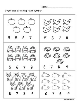 Addition worksheets for Pre-K by Brite Owls | Teachers Pay ...