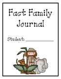 Addition/Subtraction Fact Family Journal
