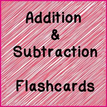Addition/Subtraction Facts