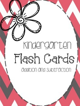 Addition/Subtraction Flash Cards