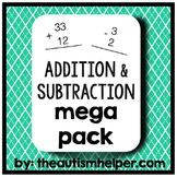 Addition/Subtraction Mega Pack {a complete curricular resource}