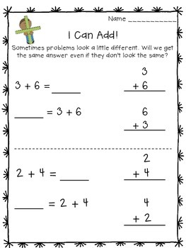 Addition/Subtraction Problems in Different Formats Freebie!