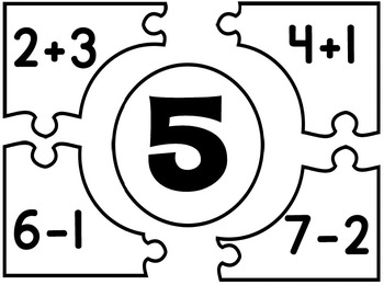 Addition/Subtraction Puzzle Pack