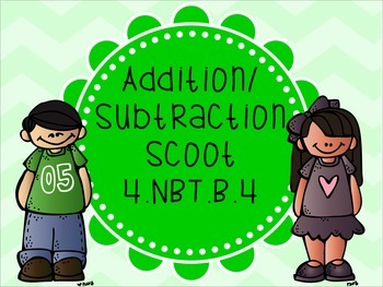 Addition/Subtraction Scoot