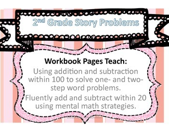 Second grade Addition/Subtraction Story problems