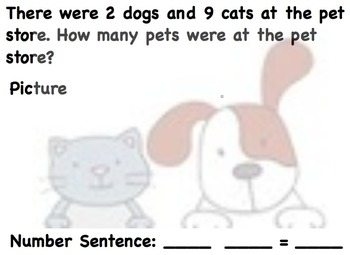 Addition/Subtraction Word Problems