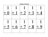 AdditionWorksheet