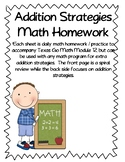 Additional Addition Strategies Practice