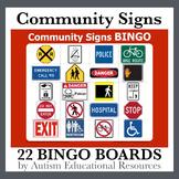 Additional Community Signs Bingo Boards