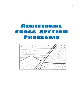 Additional Cross Section Problems