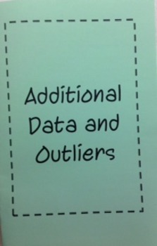 Additional Data and Outliers Foldable