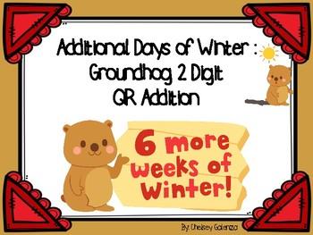 Additional Days Of Winter: Groundhog Day 2 Digit QR Addition