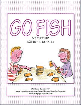 Addition Go Fish 2