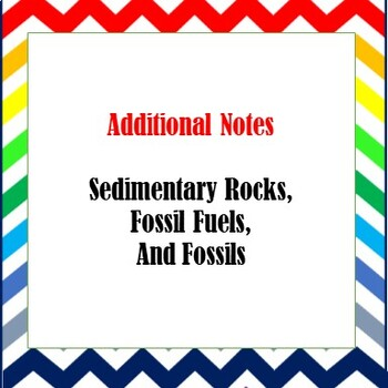 Additional Science Notes